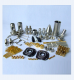 Precision metal cnc 5 axis machining parts