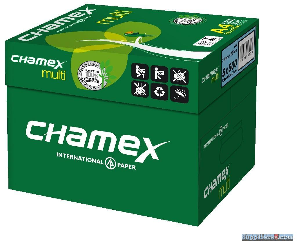 Chamex A4 Copy Paper 70 GSM 80gsm Manufacturer Exporter