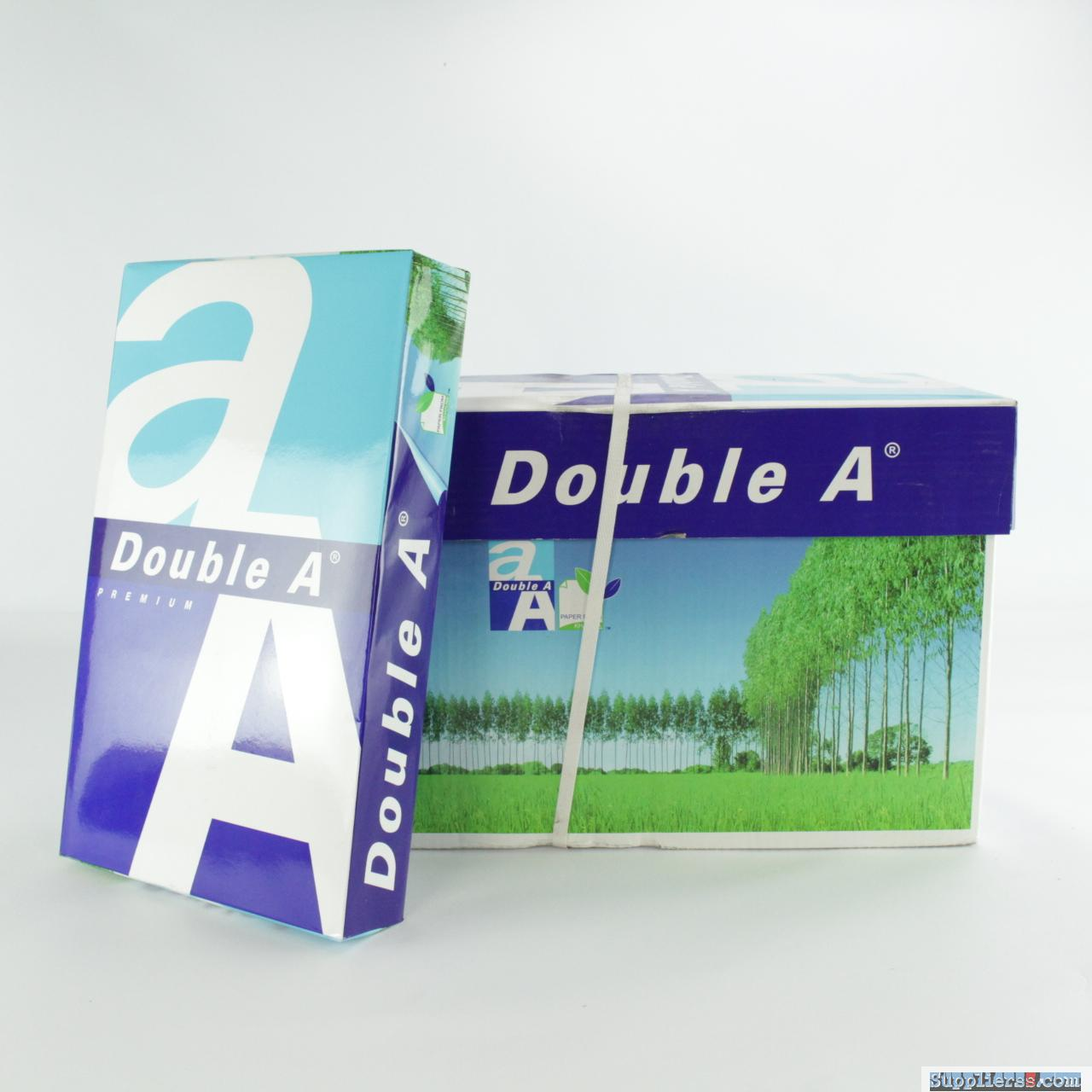 Double A A4 Copy Paper Thailand 70 GSM 80gsm Manufacturer Exporter